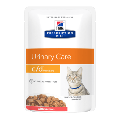 Hill's CD Feline Multicare Saumon 12x85gr