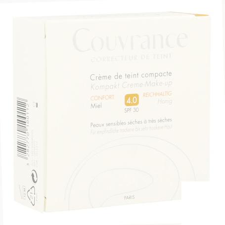 Avene Getinte Compact Crème Comfort Miel (04) 10gr