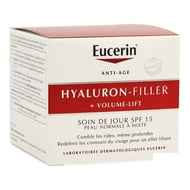 Eucerin Hyaluron Filler + Volume lift cr jour peau mixte 50ml