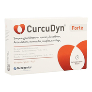 Metagenics CurcuDyn Forte articulations et muscles capsules 30pc