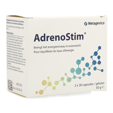 Adrenostim caps 2x30 3961 metagenics