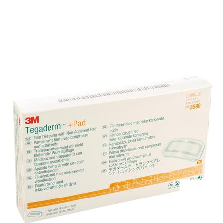 3M Tegaderm + Pad transp steril 9cmx20cm 25st