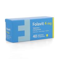 Kela Folavit 4mg 40tabl