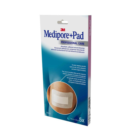 3M Medipore + Pad 10x20,0cm 5pc
