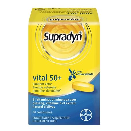 Supradyn Vital 50+ comprimés pelliculés 30pc