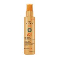 Nuxe Sun spray fondant  visage et corps SPF50 150ml