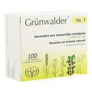 Grunwalder Nr. 1 transit intestinal comprimés 100pc