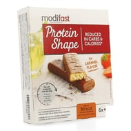 Modifast Protein Shape Barre chocolatee caramel 6x27g