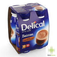 Delical Melkdrank HP HC Chocolade 4x200ml