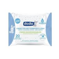 Dodie Bioafbreekbare waterdoekjes pocket 20st