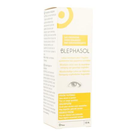 Blephasol lotion nettoyante ster paupieres 100ml