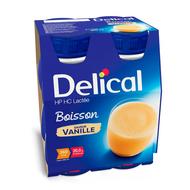 Delical Boisson vanille 4x200ml