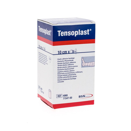 Tensoplast band. 4068 10 cmx2,75m