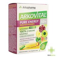 Arkopharma Arkovital Pure Energy 50+ 60st