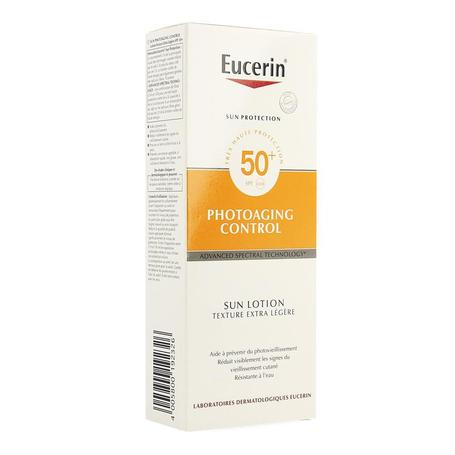 Eucerin Sun lotion extra light photoaging SPF50+ 150ml
