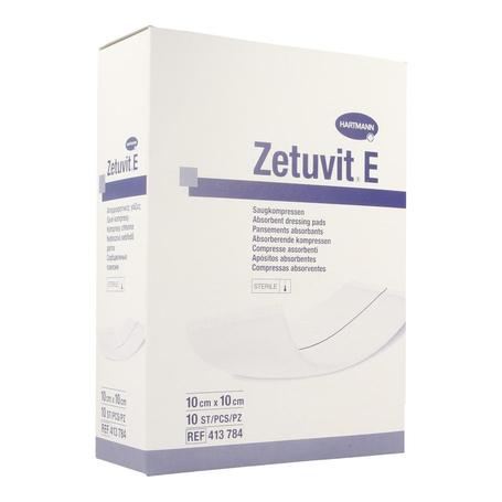 Zetuvit e 10x10cm st. 10 p/s