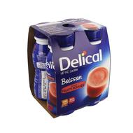Delical boisson lactee hp-hc fruits rouges 4x200ml