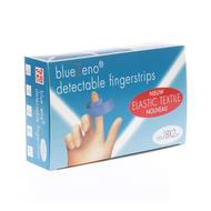 Bluezeno detectable fingerstrip blue 18x2cm 100