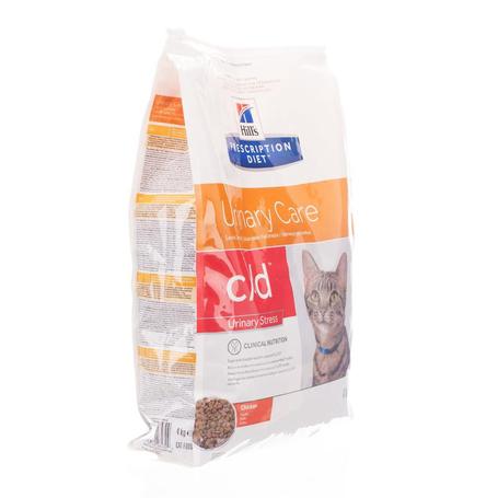 Prescription diet feline c/d stress 4kg