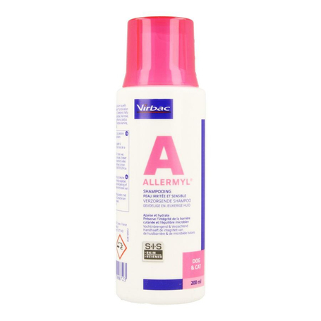 Allermyl shampooing peau allergique 200ml
