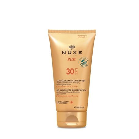 Nuxe sun lait delicieux visage-corps SPF30  150ml