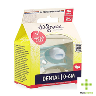 Difrax  Fopspeen Mini-Dental 0-6m 1st