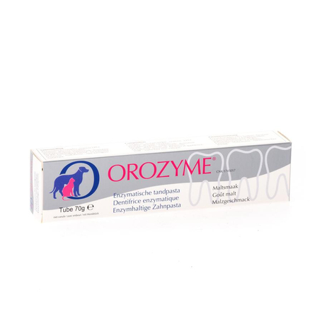 Orozyme canine dentif enzymatique chien tube 70g