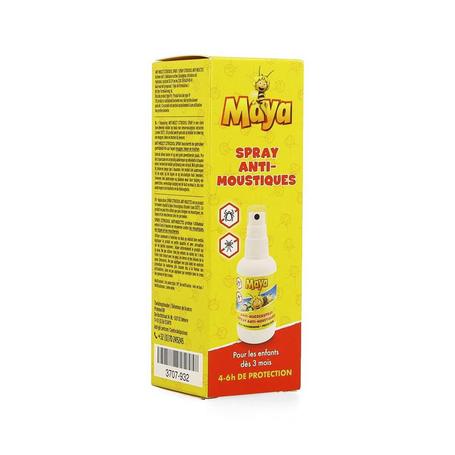 Studio 100 Anti-muggen maya de bij spray voor kinderen vanaf 6maanden 50ml