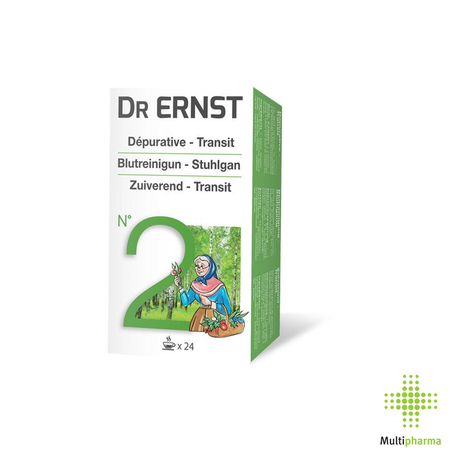 Dr Ernst n°2 Tisane dep. laxat 24pc