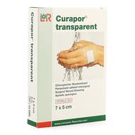 Curapor transparent steril 7cmx 5cm 5 13099