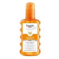Eucerin Sun spray transparent sensitive protect SPF50+ 200ml