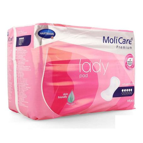 Molicare pr lady pad 5 drops 14 p/s