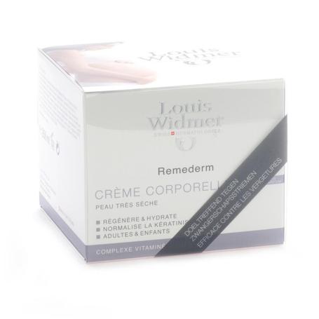 Louis Widmer Remederm Crème Corporelle sans Parfum 250ml