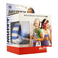 Alpine muffy casque auditif kids bleu/blanc