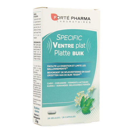 Fortepharma Specific Ventre Plat 28pc
