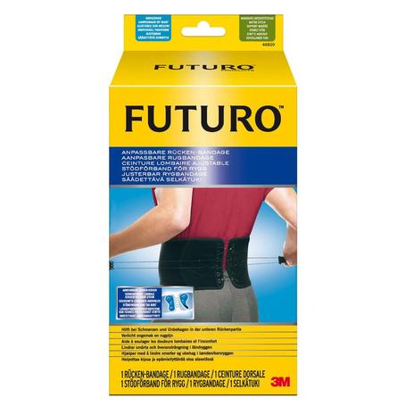 Futuro Rugbandage aanpasbaar zwart  1st