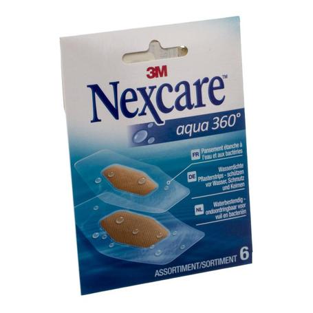 Nexcare Aqua 360 strips 14pc
