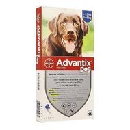 Advantix Dog 400/2000 Chiens 25<40kg pipettes 6x4,0ml