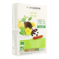 Arkofluides Détox bio ampoules 20pc