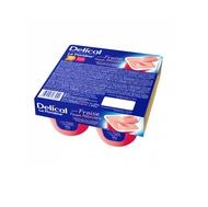 Delical Crème dessert La Floridine fraise 4x125gr