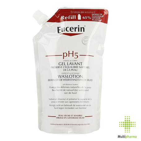 Eucerin Refill pH5 Waslotion 400ml
