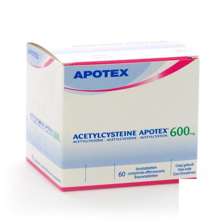 Acetylcysteine apotex comp eff 60 x 600mg