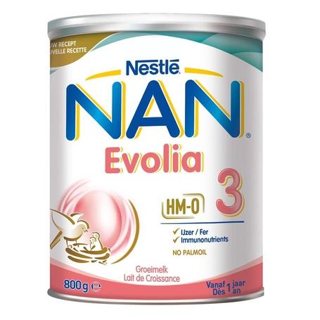 Nan Evolia 3 Groeimelk +1 jaar 800gr