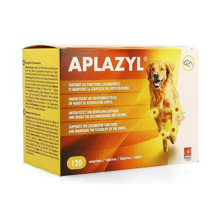 Aplazyl Complement alimentaire chien chat 120comp