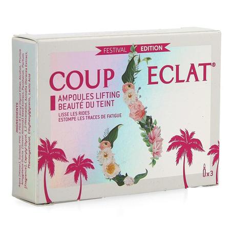 Coup d'eclat lifting beauté teint ampullen 3x1ml