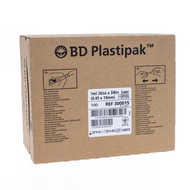 BD Plastipak Spuit + naald tuberculine 1ml + 26g 3/8 1st (303176)
