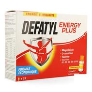 Defatyl Energy Plus energie & weerstand 28x15ml