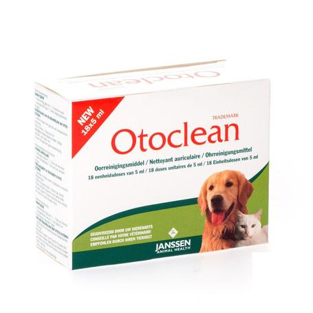 Otoclean fl 18 x 5ml