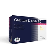 EG Calcium-D Forte citroen 1000mg/800IE kauwtabletten 90st