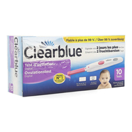 Clearblue digital test ovulation 10